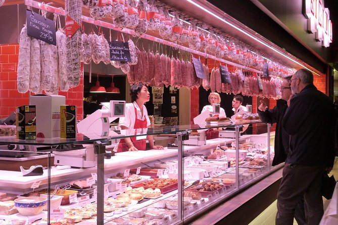 Small Group Gourmet tour of Old Lyon and Les Halles Paul Bocuse covered market photo 7
