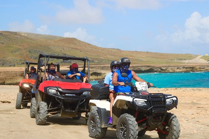 UTV & ATV Two Natural Pools & Natural Bridge Adventure