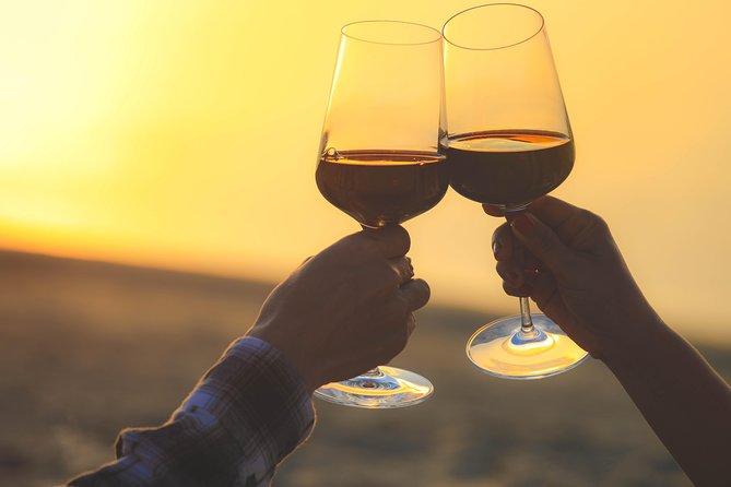 sunset wine tasting from Albufeira