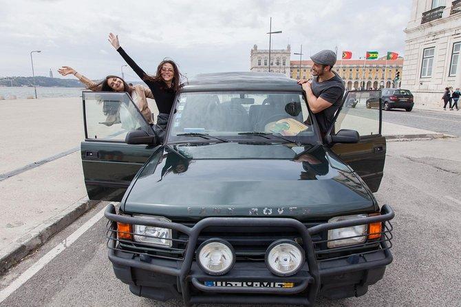 リスボンからベレンまでの地元のプライベートジープツアー