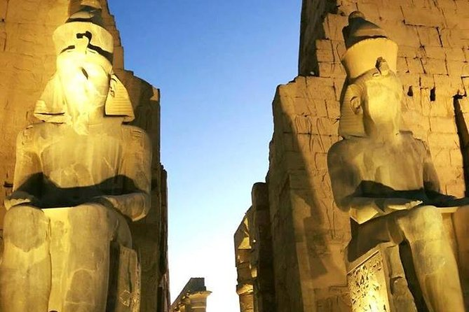 Day guided Trip to Luxor from Hurghada with Hotel Pickup and Lunch