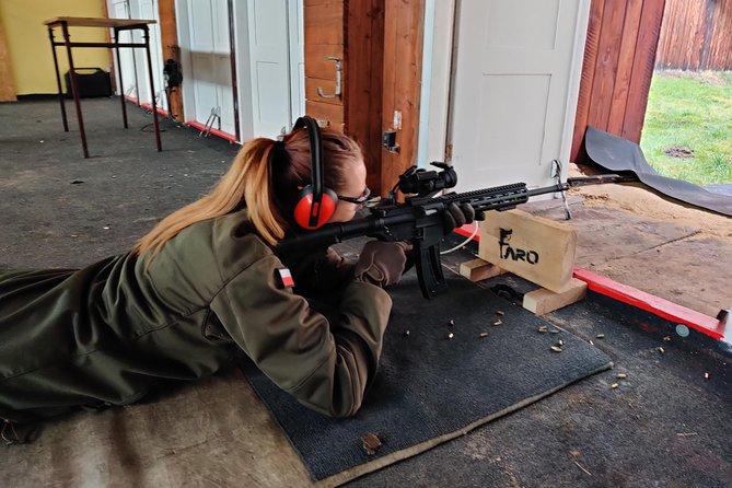 ADVANCED SHOOTER – 45 shots - Cracow Shooting real guns
