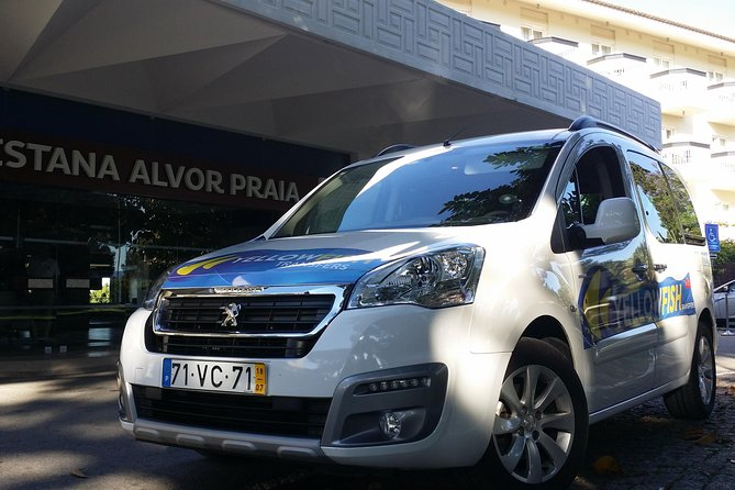 Carvoeiro Private Transfer to Faro Airport