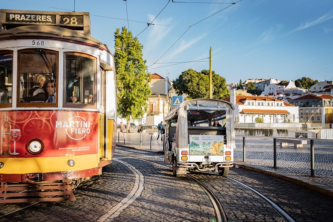 Lisbon: Follow the 28 Tram Route on a Private Tuk-Tuk
