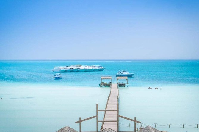 Orange Island & Water Sports Snorkeling Sea Trip - Hurghada