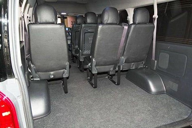 Departure Private Transfer from Xi'an City to Xianyang Airport XIY by Minivan