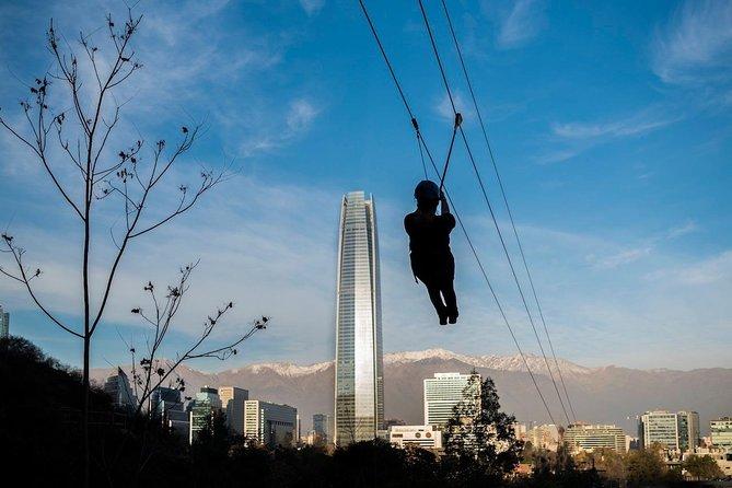 Adventure in the heart of Santiago: Ticket full Adventure Park