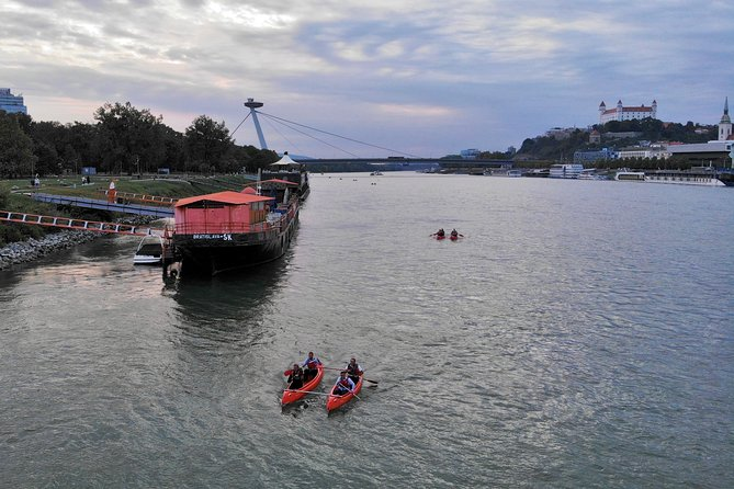 Grand Danube canoe descent from Vienna and discovery of Bratislava