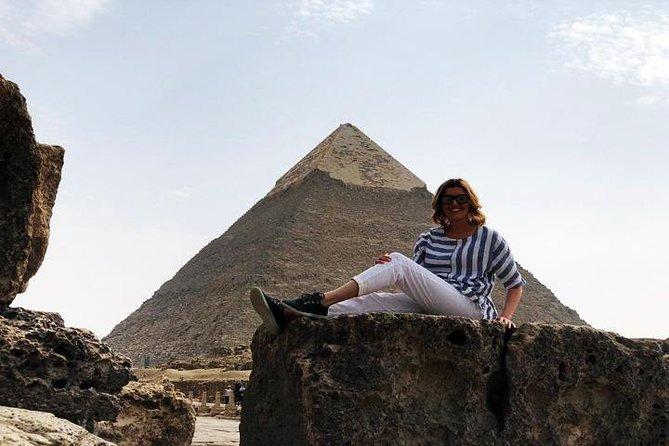 Giza Pyramids, Memphis and Sakkara Tour with camel Ride