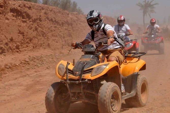 QUAD BIKE Small Group 1/2 Day in Marrakech photo 2