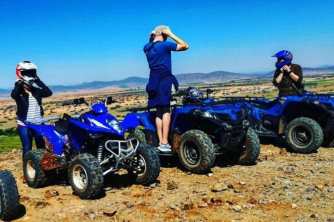 QUAD BIKE Small Group 1/2 Day in Marrakech photo 4