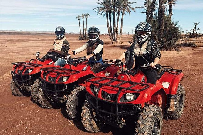 QUAD BIKE Small Group 1/2 Day in Marrakech photo 7