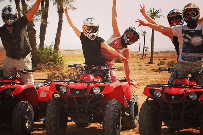 QUAD BIKE Small Group 1/2 Day in Marrakech photo 1