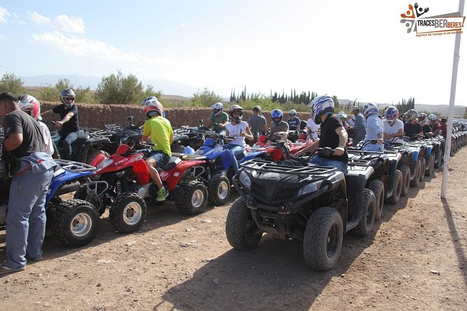 QUAD BIKE Small Group 1/2 Day in Marrakech photo 8