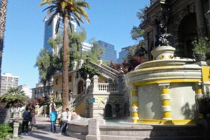 Transfer from San Antonio port in small groups + Cultural city tour in Santiago