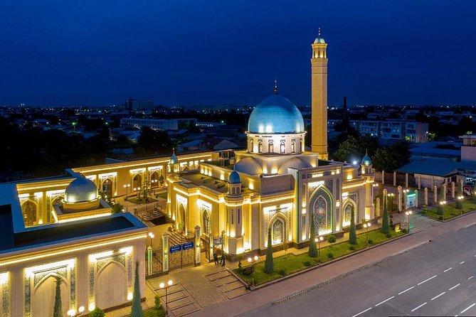 Tashkent Mosques and Churches at Night