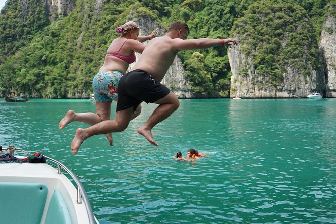 From Khao Lak : Phi Phi Snorkeling Day Trip by Speedboat Including Buffet Lunch photo 4