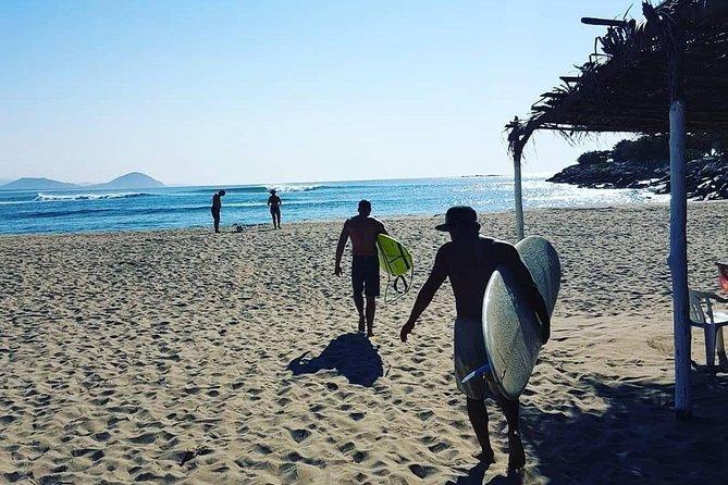 Surf Classes in Puerto Escondido