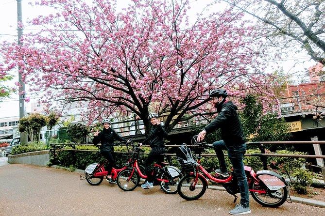 Disfrute del tour local de bicicletas eléctricas en Tokio, 3 horas de viaje cerca de la estación de Tokio