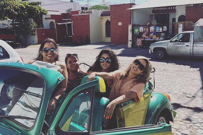 City, Local Food and Taco Tasting Tour in Classic VW Convertible Beetle