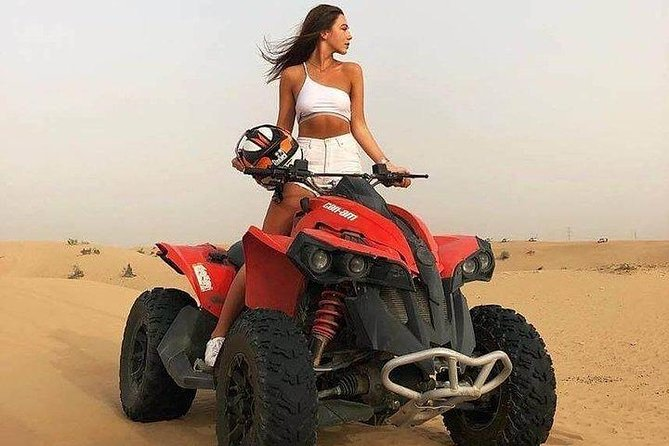Evening Red Dunes Desert Safari With Quad Bike