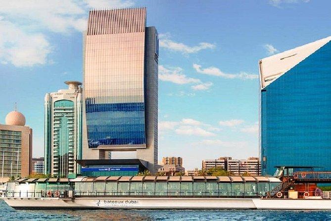 Bateaux Dubai Dinner Cruise including transfers