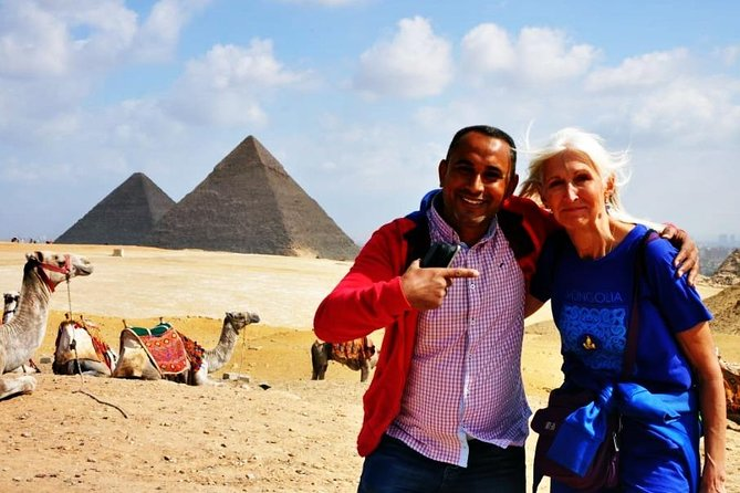 Giza and Sakkara Private Day Tour Camel Ride and Felucca Nile