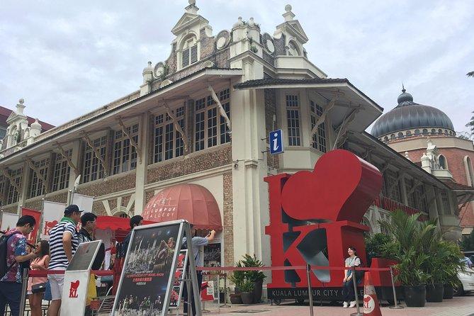 KLIA ( KLIA2 ) Airport to Kuala Lumpur Old City Walk Tour