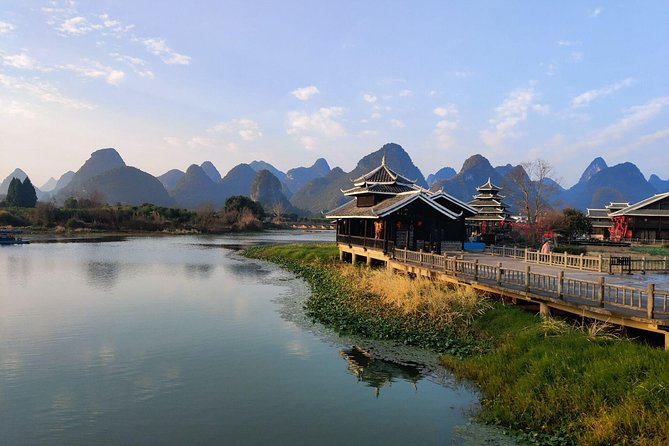 Half-Day Self-Guided Yangshuo Xianggong hill Sunrise and Shangri-La Village Tour