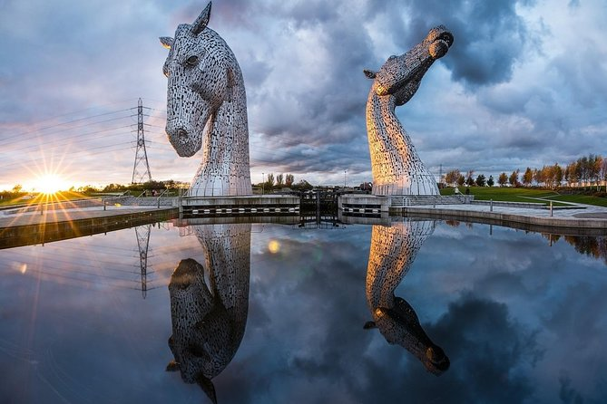The Kelpies, Stirling Castle and Loch Lomond (1 to 8 people available)