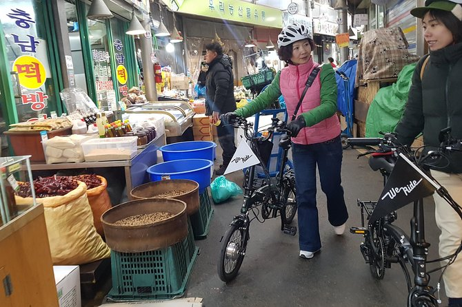 Morning E-bike Tour & Korean Lunch