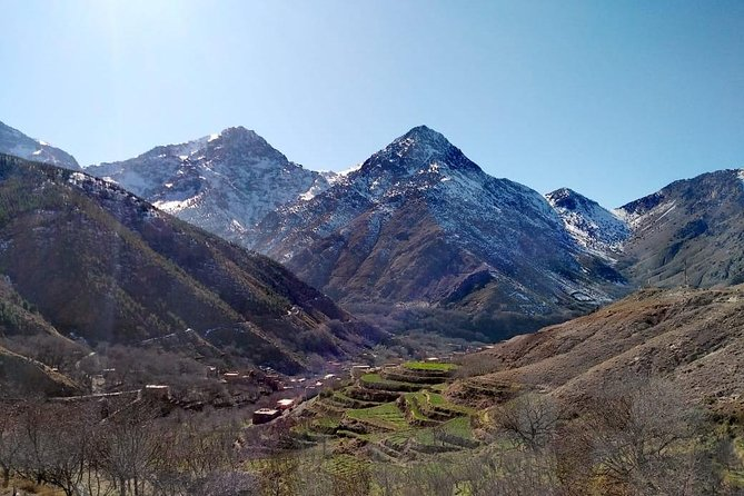 Atlas Mountains And Toubkal Massif & Waterfalls Private Day Trek From Marrakech photo 6