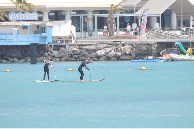 2-Hour Beginners Stand Up Paddle Course in Caleta de Fuste photo 3