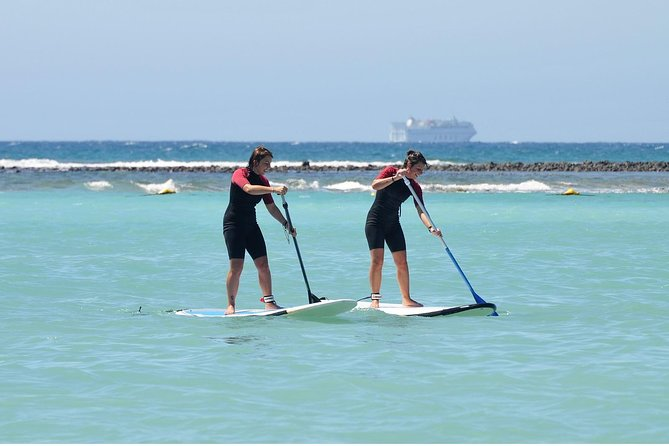 2-Hour Beginners Stand Up Paddle Course in Caleta de Fuste photo 1