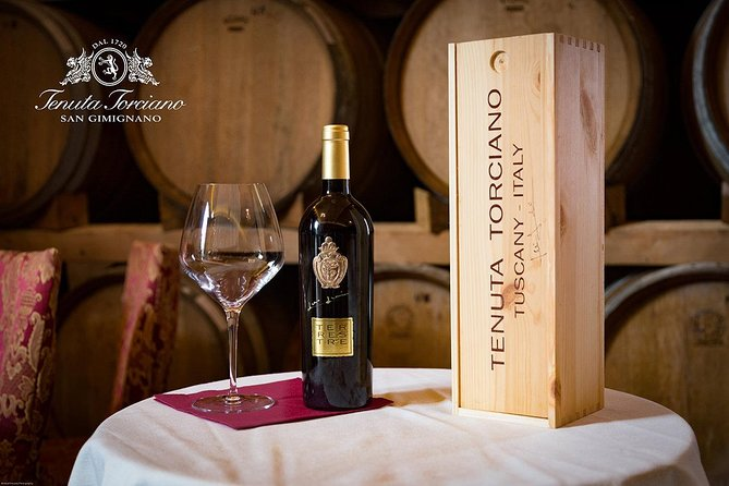Day tour from Rome Siena San Gimignano Tenuta Torciano Winery include lunch
