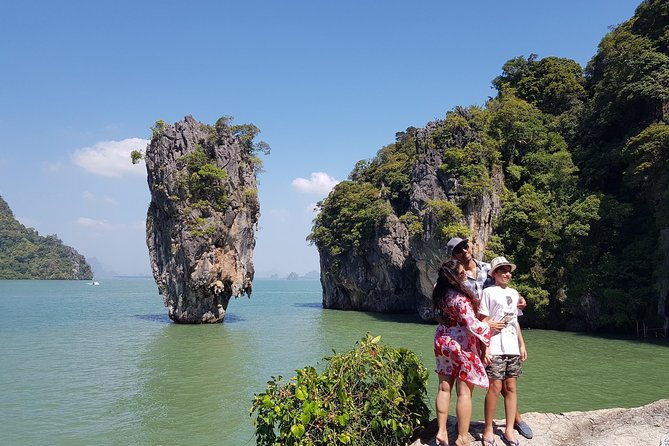 James Bond Island Tour Sea Canoeing Trip by speed boat