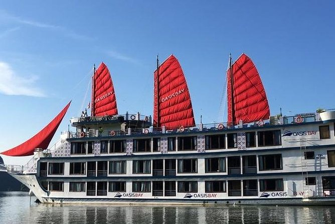 Oasis Bay Party Cruise 5 Star - Ha Long Bay 2 Days 1 Night (For Young People)
