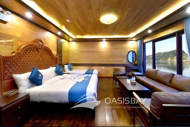 Oasis Bay Party Cruise 5 Star - Ha Long Bay 2 Days 1 Night (For Young People) photo 13