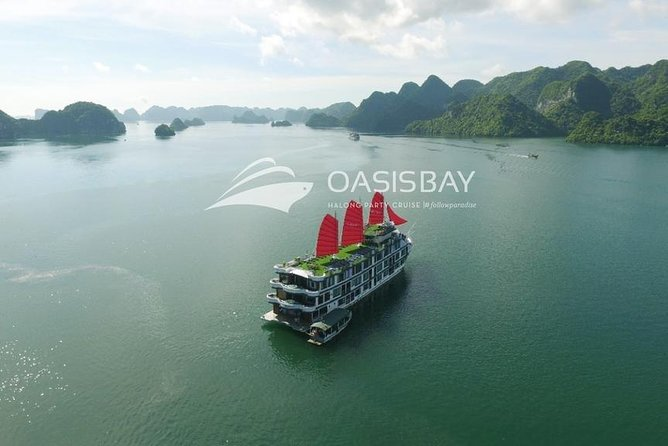 Oasis Bay Party Cruise 5 Star - Ha Long Bay 2 Days 1 Night (For Young People) photo 10