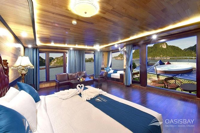 Oasis Bay Party Cruise 5 Star - Ha Long Bay 2 Days 1 Night (For Young People) photo 20