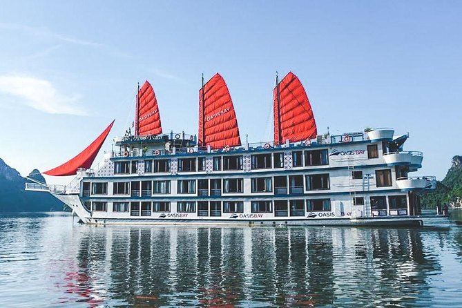 Oasis Bay Party Cruise 5 Star - Ha Long Bay 2 Days 1 Night (For Young People) photo 2