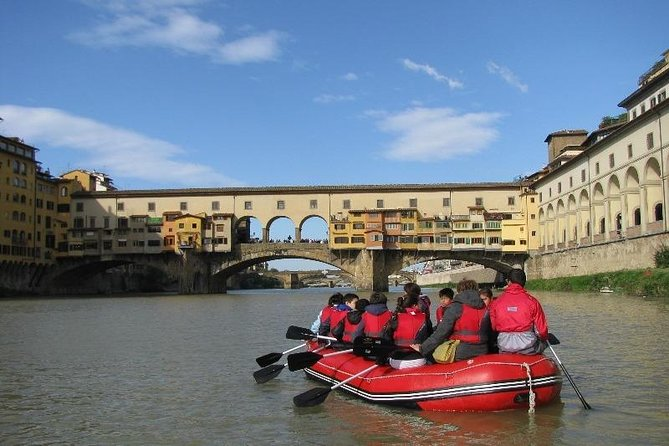 Florence soft rafting experience