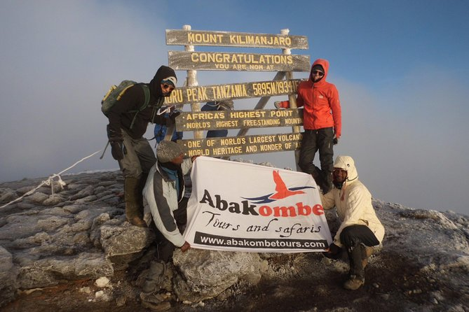 6 Days Marangu route-Kilimanjaro climbing