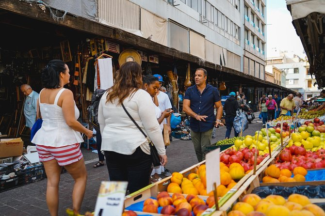 Athens Food Market tour and Greek taverna lunch