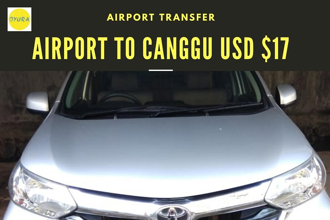 Bali Airport Transfer CANGGU AREA by Oyura
