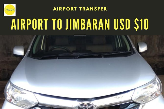 Bali Airport Transfer JIMBARAN AREA by Oyura