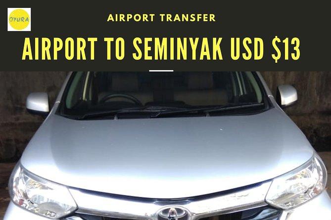 Bali Airport Transfer SEMINYAK AREA by Oyura