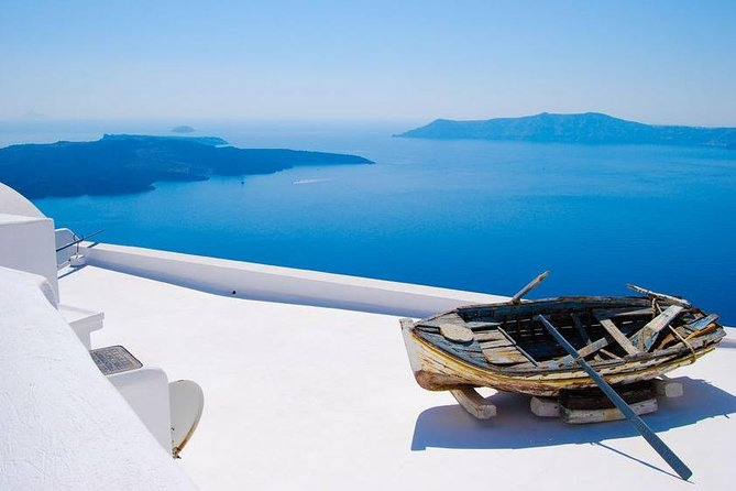 Santorini History, Wine and Food Guided Tour, with Transfer