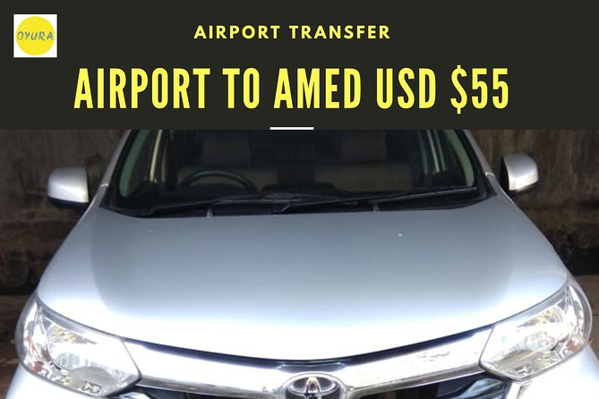 Bali Airport Transport AMED AREA by Oyura