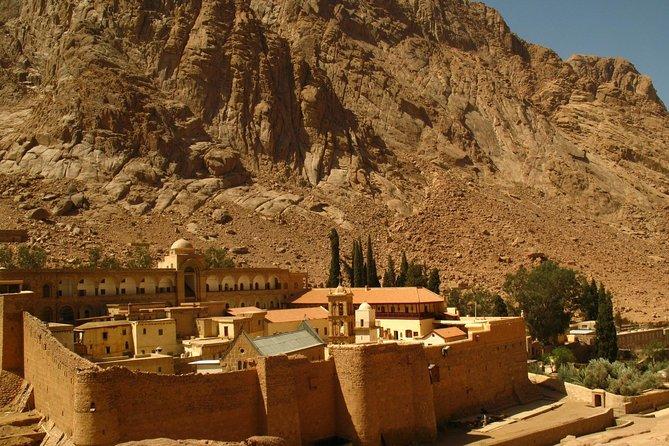 St. Catherine Monastery and Dahab from Sharm el Sheikh